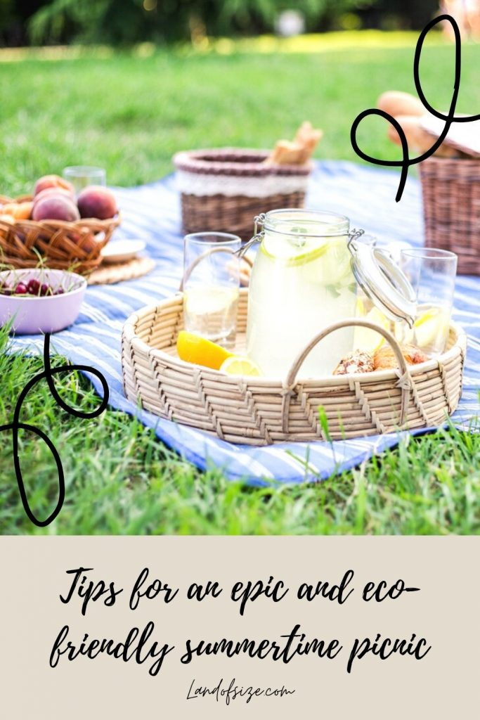 Tips for an epic and eco-friendly summertime picnic
